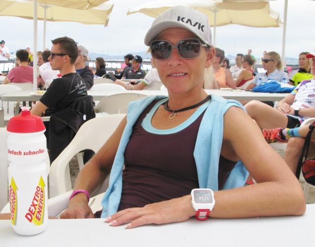Mareen Hufe Wettkampfbesprechung Mallorca